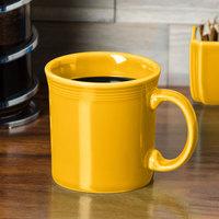 Homer Laughlin 570342 Fiesta Daffodil 12 oz. China Java Mug - 12/Case
