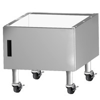 Garland G24-BRL-CAB G Series 24 inch Range Match Charbroiler Cabinet with Casters