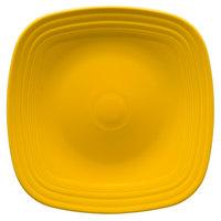 Homer Laughlin 919342 Fiesta Daffodil 10 3/4 inch Square China Plate - 12/Case