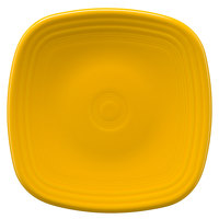 Homer Laughlin 921342 Fiesta Daffodil 7 3/8 inch Square China Salad Plate - 12/Case