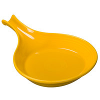 Homer Laughlin 1484342 Fiesta Daffodil 18 oz. Individual China Skillet Baker - 4/Case