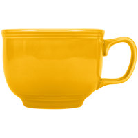 Homer Laughlin 149342 Fiesta Daffodil 18 oz. Jumbo China Cup - 12/Case