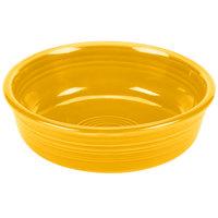 Homer Laughlin 460342 Fiesta Daffodil 14.25 oz. Small China Nappy Bowl - 12/Case