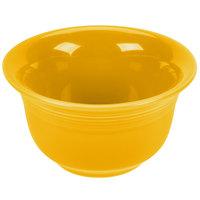 Homer Laughlin 450342 Fiesta Daffodil 6.75 oz. China Bouillon - 12/Case