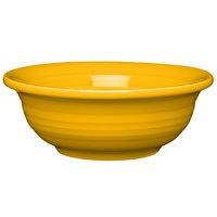 Homer Laughlin 1489342 Fiesta Daffodil 9 oz. Individual China Fruit / Salsa Bowl - 8/Case