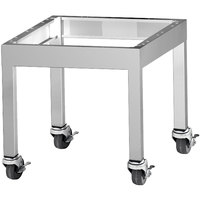 Garland G48-BRL-STD G Series 48 inch Range Match Charbroiler Stand with Casters