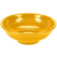 Homer Laughlin 765342 Fiesta Daffodil 2 Qt. China Pedestal Serving Bowl - 4/Case
