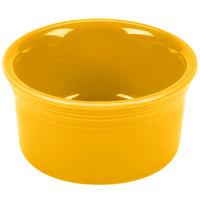 Homer Laughlin 568342 Fiesta Daffodil 8 oz. China Ramekin - 6/Case