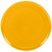 Homer Laughlin 575342 Fiesta Daffodil 12 inch China Pizza Tray - 4/Case