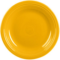 Homer Laughlin 466342 Fiesta Daffodil 10 1/2 inch Round China Dinner Plate - 12/Case