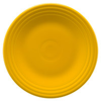 Homer Laughlin 465342 Fiesta Daffodil 9 inch China Luncheon Plate - 12/Case