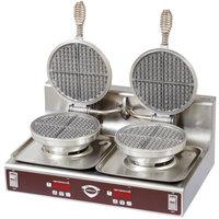 Wells WB-2E Double Waffle Maker - 208/240V