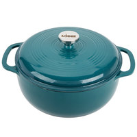 Lodge EC6D38 6 Qt. Lagoon Enamel Dutch Oven