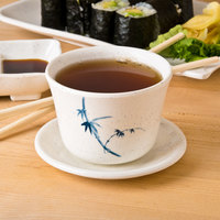 Thunder Group 9152BB Blue Bamboo 5 oz. Melamine Tea Cup - 12/Case