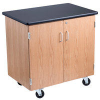 National Public Seating MSC2436 24 inch x 36 inch Mobile Science Storage Cabinet