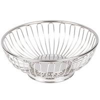 American Metalcraft BSS7 6 5/8 inch Round Stainless Steel Basket