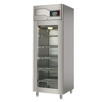 220 Volts Maturmeat 29 Inch Glass Door Stainless Steel Meat Aging Cabinet    220 Lb. / 100