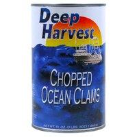 Chopped Ocean Clams - (12) 51 oz. Cans / Case