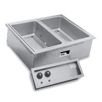 APW Wyott SHFWEZ-3D EZ-Fill 3 Well Insulated Drop In Hot Food Well - 208 / 240V