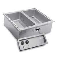 APW Wyott SHFWEZ-3D EZ-Fill 3 Well Insulated Drop In Hot Food Well - 208 / 240V