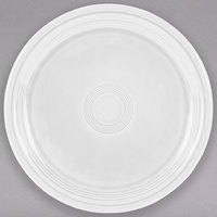 Homer Laughlin 749100 Fiesta White 9 inch China Healthcare Plate - 12/Case