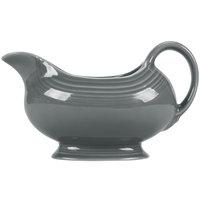 Fiesta Tableware from Steelite International HL486339 Slate 18.5 oz. China Sauce / Gravy Boat - 4/Case