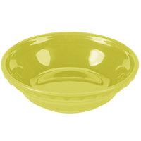 Homer Laughlin 417332 Fiesta Lemongrass 6 3/8 inch China Small Pie Baker - 6/Case
