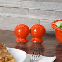 Homer Laughlin 751338 Fiesta Poppy China Pepper Shaker - 12/Case