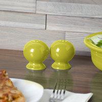 Homer Laughlin 751332 Fiesta Lemongrass China Pepper Shaker - 12/Case