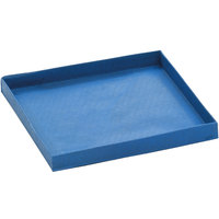 Merrychef 32Z4125 Blue 5 1/2 inch x 5 1/2 inch Quarter Size Solid Non-Stick Basket
