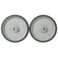 10 inch Heavy-Duty Tilt Truck Wheels - 2/Set