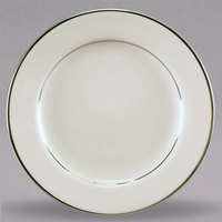 Homer Laughlin 703178 Sterling 7 inch Ivory (American White) China Cavalier Salad Plate - 36/Case