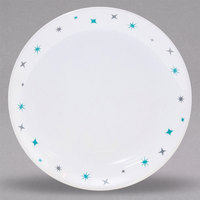 Homer Laughlin 31010029 Pulsar 10 3/8 inch Bright White Empire Coupe China Plate - 12/Case