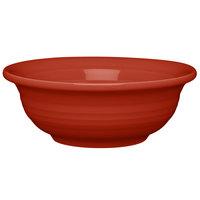 Homer Laughlin 1489326 Fiesta Scarlet 8 oz. China Individual Fruit / Salsa Bowl - 8/Case