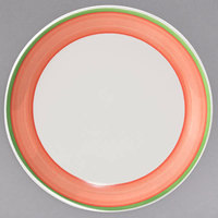 Homer Laughlin 3058083 Toulon 7 1/8 inch China Rolled Edge Coupe Plate - 36/Case