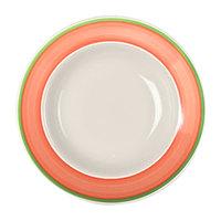 Homer Laughlin 2558083 Toulon 6 oz. China Rolled Edge Rim Soup Bowl - 24/Case