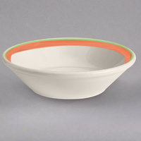 Homer Laughlin 1638083 Toulon 6 oz. China Rolled Edge Fruit Bowl - 36/Case