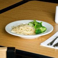 Homer Laughlin 20446000 Pristine Unique Ameriwhite 19 oz. Bright White China Wide Rim Pasta Bowl - 12/Case