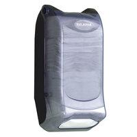 San Jamar H5004PCL Mini Interfold Venue Wall Mount Napkin Dispenser - Clear
