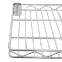Regency 12 inch x 36 inch NSF Chrome Wire Cantilever Shelf