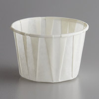 Genpak F200 Harvest Paper 2 oz. Compostable Souffle / Portion Cup - 5000/Case