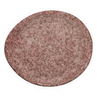 10 Strawberry Street BISEKI-5OVL-HSALT Biseki 6 inch Oval Himalayan Salt Stoneware Bread and Butter Plate - 24/Case