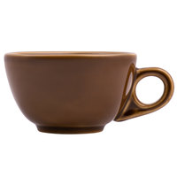 Homer Laughlin 1059392 Bosque Maple 7.75 oz. China Boston Cup - 36/Case