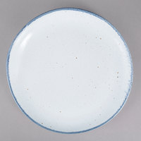 10 Strawberry Street ARCTIC-8CP Arctic Blue 8 inch Round Coupe Porcelain Salad Plate - 24/Pack
