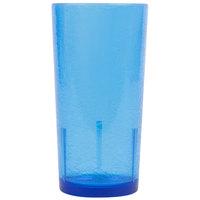 Cambro D24608 Del Mar 24 oz. Sapphire Blue Customizable Plastic Tumbler   - 36/Case