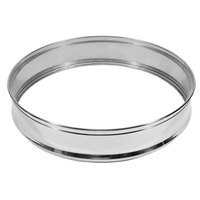 Town 36619 18 inch Stainless Steel Steamer Ring