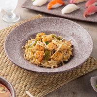 10 Strawberry Street BISEKI-41-HSALT Biseki 16 oz. Himalayan Salt Stoneware Pasta Bowl - 6/Case