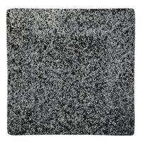 10 Strawberry Street WTR-7SQ-G Granite 7 1/4 inch Square Porcelain Dinner Plate   - 12/Pack