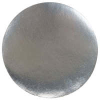 8 1/8 inch Round Foil Laminated Board Lid - 500/Case