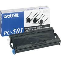 Brother PC501 Black Thermal Transfer Print Cartridge